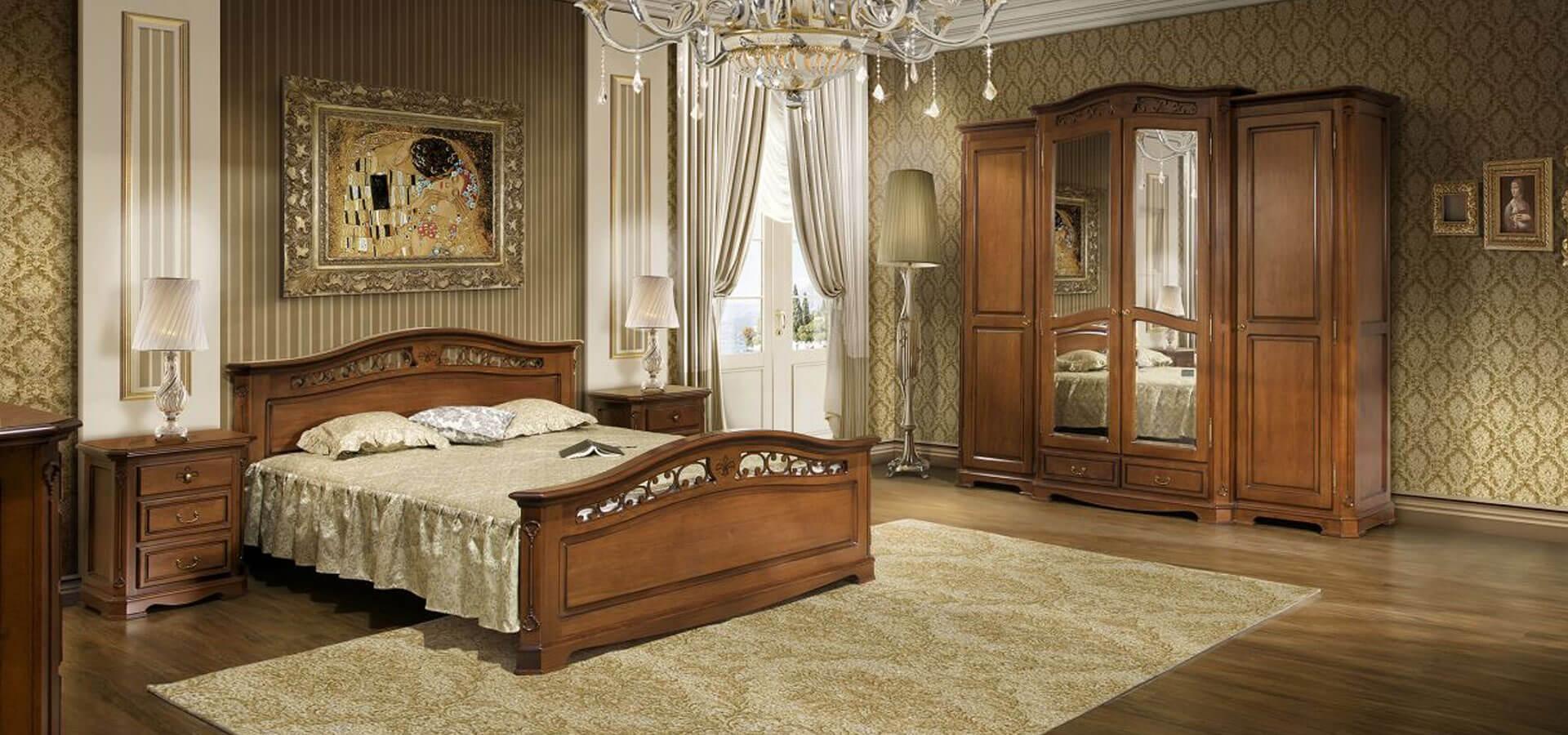 Спални от масивно дърво - мебели от естествено дърво