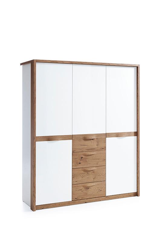 Гардероб с 3 врати - CM-3D Como - арт мебели естествено дърво
