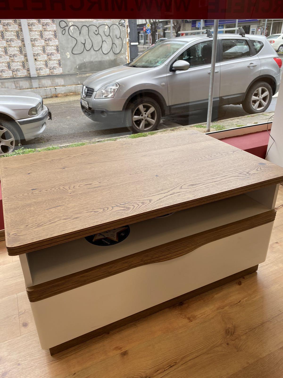Холна маса - CM-S4 Como - арт мебели естествено дърво