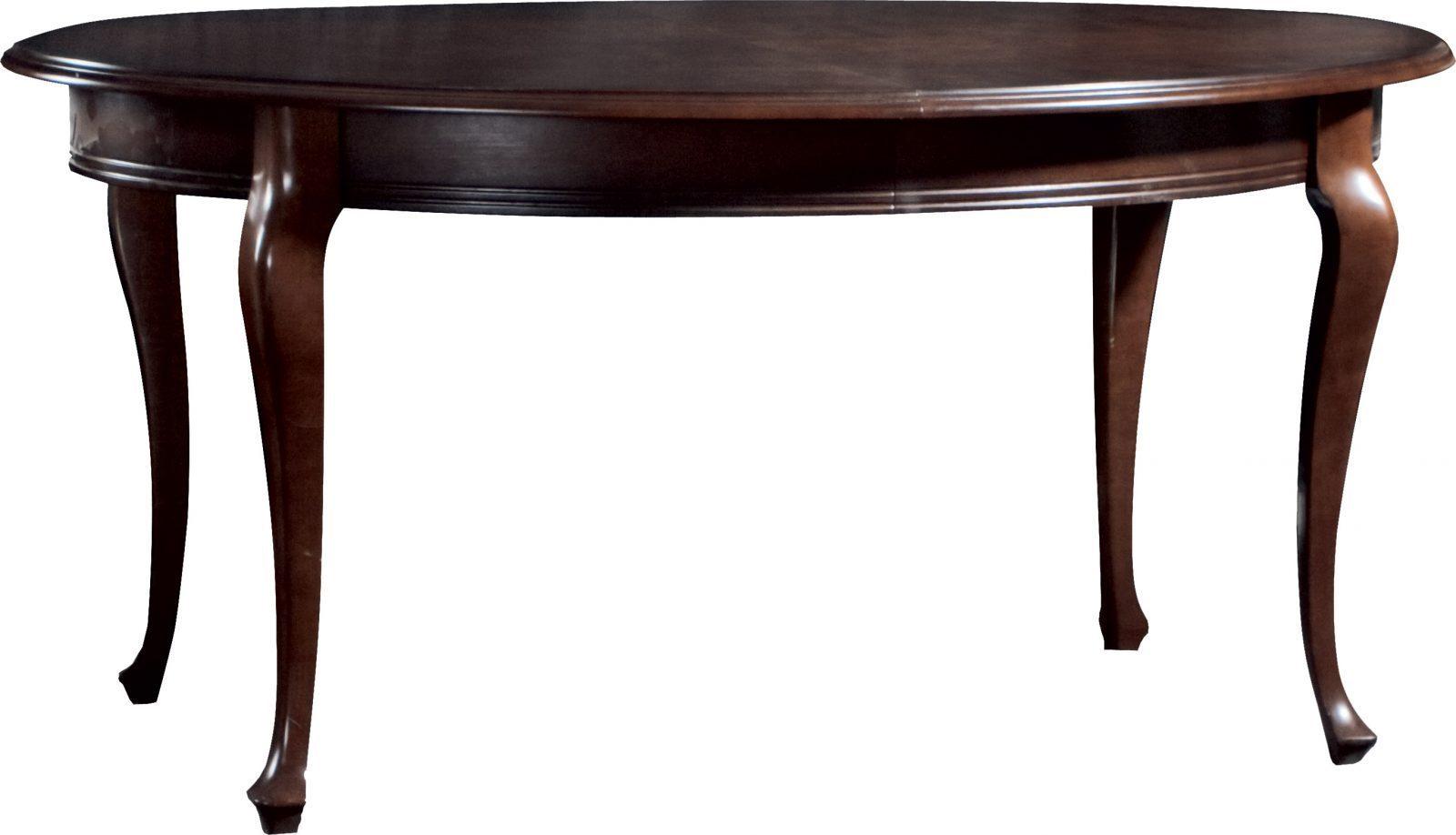 Елипсовидна маса V-1 Verona - арт мебели естествено дърво