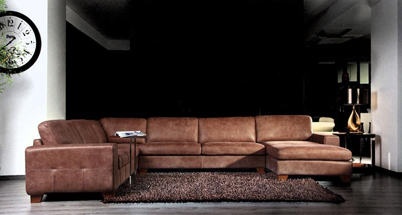 Ъглов диван Alba - арт мебели естествено дърво
