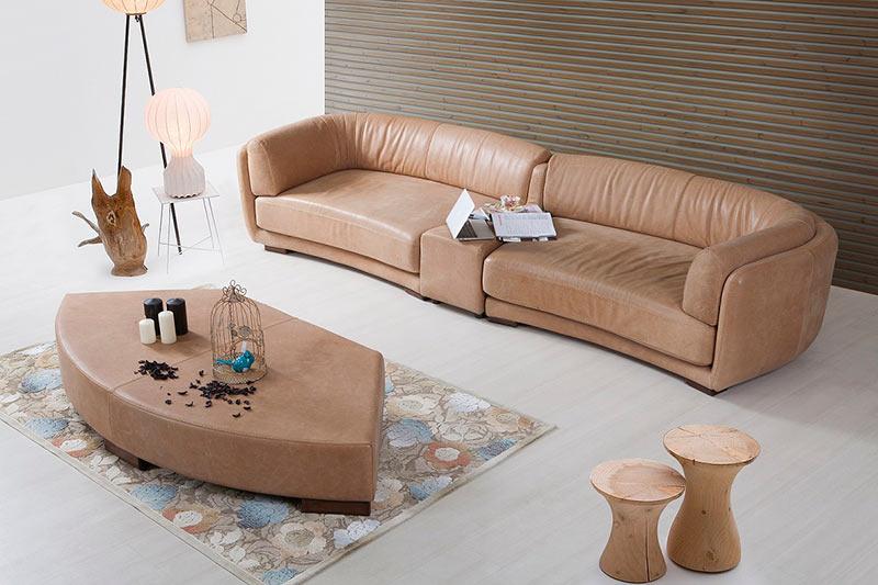 Диван Pamela - арт мебели естествено дърво