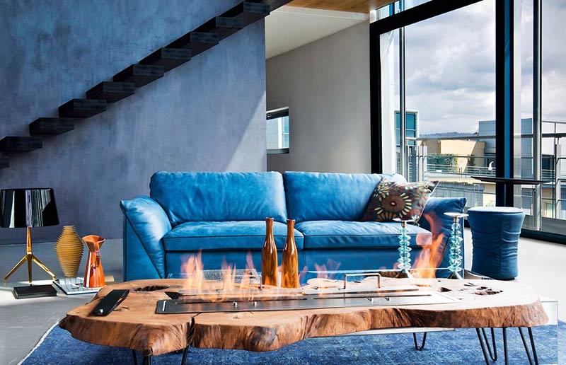 Диван Tropez - арт мебели естествено дърво