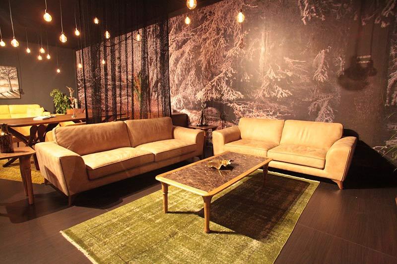 Диван Verona - Montel - арт мебели естествено дърво