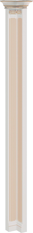 Ъглов свързващ елемент V-slupek narozny Verona - арт мебели естествено дърво