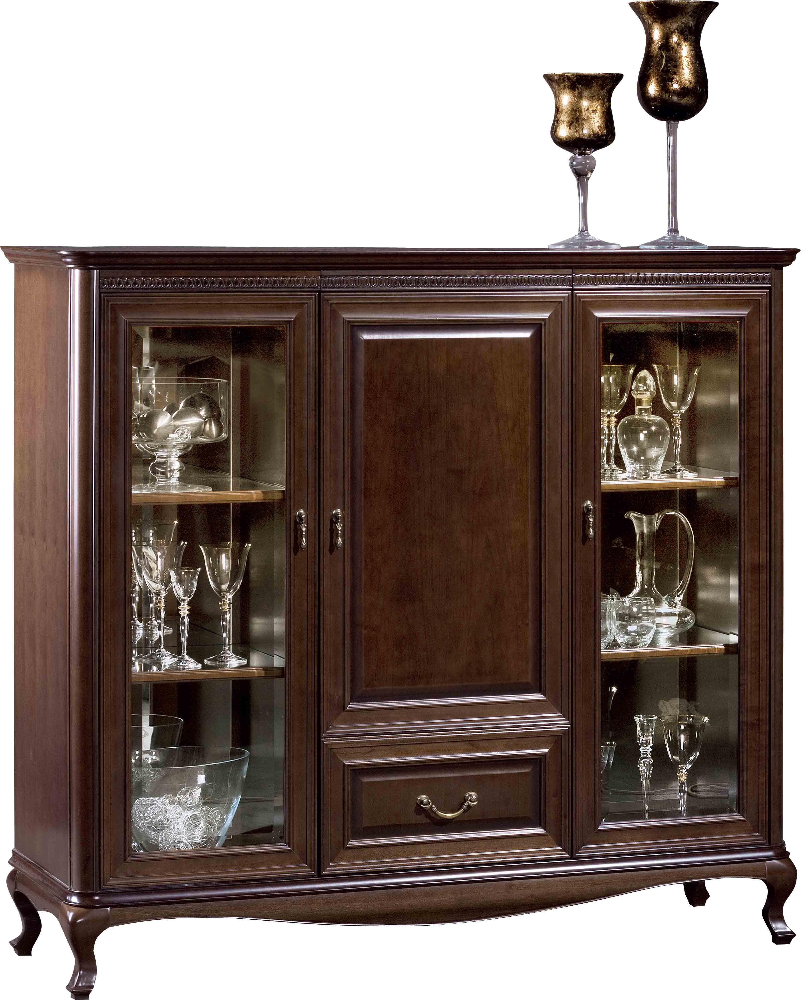 Бар шкаф V-KB Verona - арт мебели естествено дърво