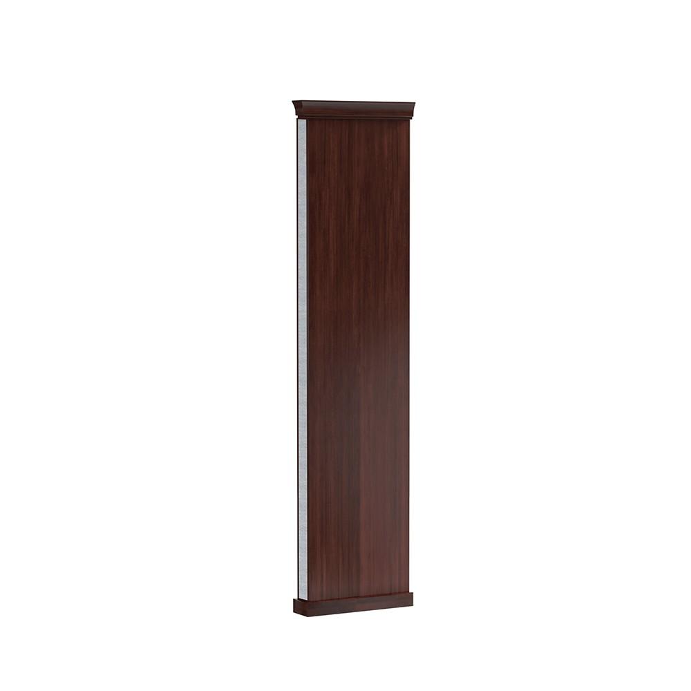 Краен елемент с корона MO-1F bok Monaco - арт мебели естествено дърво