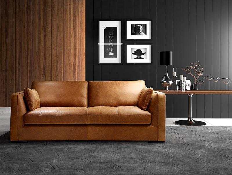 Диван Conti - арт мебели естествено дърво