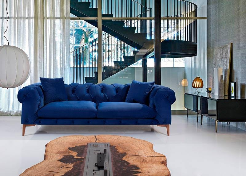 Диван Penelope - арт мебели естествено дърво