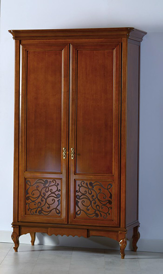 Гардероб с две врати M202 Matteo - арт мебели естествено дърво