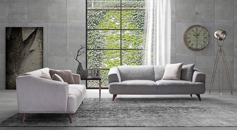Диван Genny - арт мебели естествено дърво