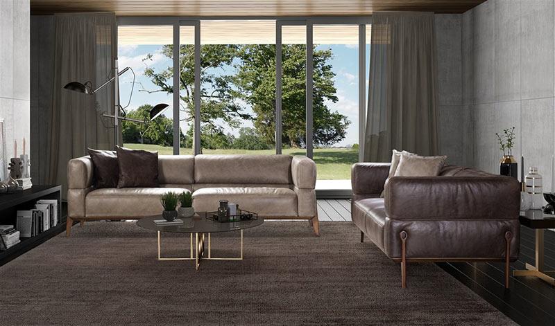 Диван Zerox - арт мебели естествено дърво