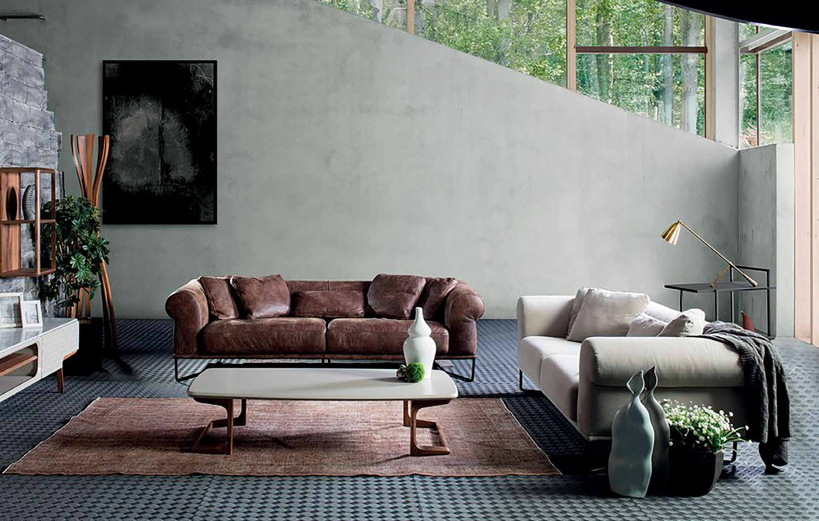 Диван Glamour - арт мебели естествено дърво