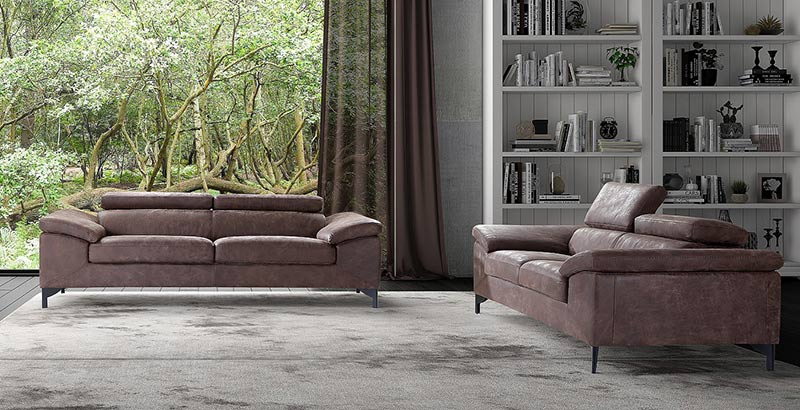 Диван Lucas - арт мебели естествено дърво