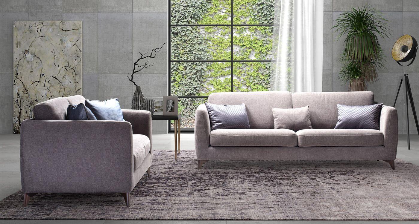 Диван Melis - арт мебели естествено дърво