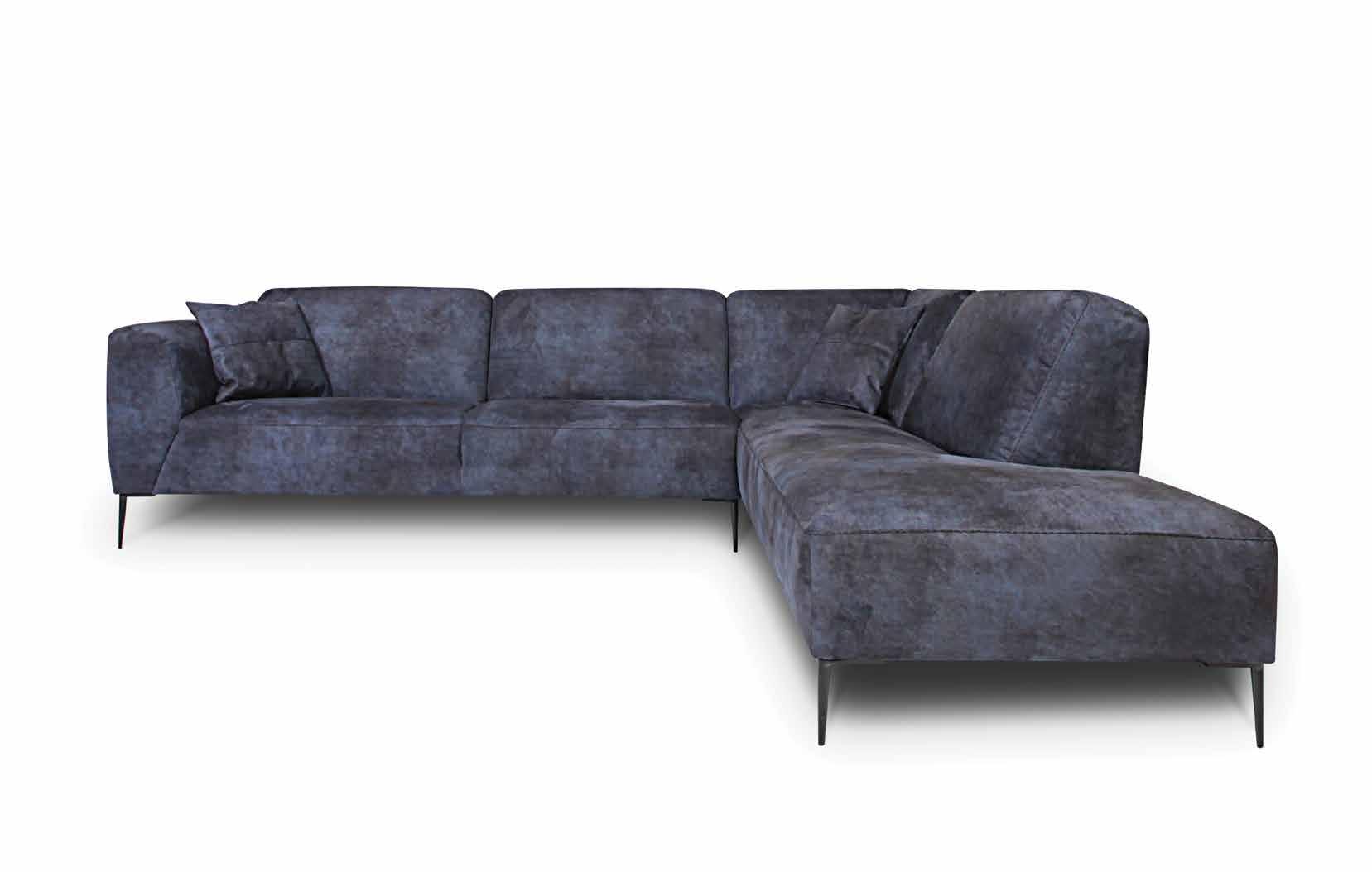 Ъглов диван Dax - арт мебели естествено дърво
