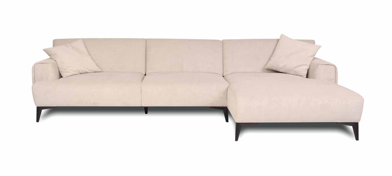 Ъглов диван Serena - арт мебели естествено дърво